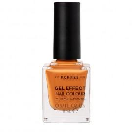 KORRES Gel Effect Βερνίκι Νυχιών Nail Colour No92 Mustard 11ml