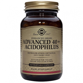 SOLGAR  Advanced 40+ Acidophilus - 60veg.caps