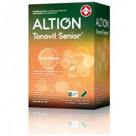 ALTION Tonovit Senior Multivitamin, Πολυβιταμίνη για 50+, - 40καψ
