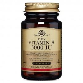 SOLGAR Vitamin A 5000iu 100tabs