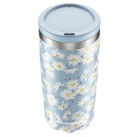 CHILLY'S BOTTLES Coffee Cup, Κούπα- Θερμός, Floral Daisy - 500gr