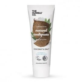 THE HUMBLE CO Natural Toothpaste Coconut & Salt, Φυσική Οδοντόκρεμα Καρύδα και Αλάτι - 75ml