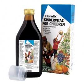 SALUS HAUS KINDERVITAL πολυβιταμινούχο σιρόπι για παιδιά 250ml