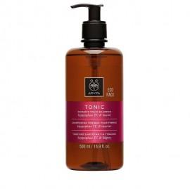 APIVITA Women's Tonic Shampoo - Τονωτικό Σαμπουάν Κατά Της Τριχόπτωσης Για Γυναίκες - 500ml