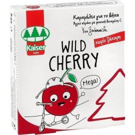 KAISER Wild Cherry Καραμέλες για τον Βήχα Χωρίς Ζάχαρη 50gr
