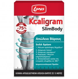 LANES Kcaligram Slimbody, Απώλεια Βάρους - 60caps