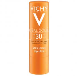 VICHY Ideal Soleil Lip Stick SPF30, Αντηλιακό Στικ Για Ευαίσθητα Χείλη - 4.7ml