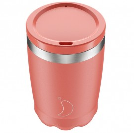 CHILLY'S BOTTLES Coffee Cup, Κούπα- Θερμός, Pastel Coral - 340ml