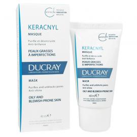 DUCRAY Keracnyl Masque Μάσκα Προσώπου για Λιπαρό/Μικτό Δέρμα 40ml