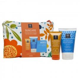 APIVITA Suncare Anti-Spot SPF50 Face Cream -50ml + ΔΩΡΟ After Sun Cooling Cream Gel - 100ml