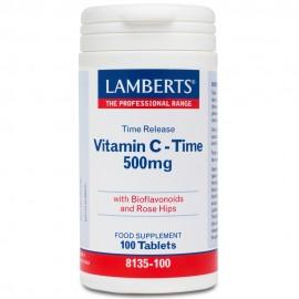 LAMBERTS C-500mg Time Release 100tabs