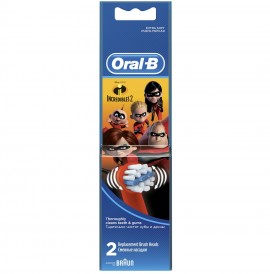 ORAL B Stages Power Ανταλλακτικές Κεφαλές Incredibles - 2τμχ