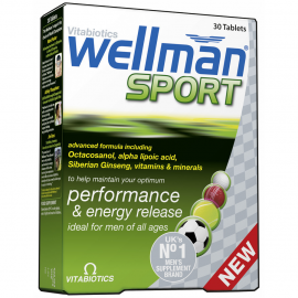 VITABIOTICS Wellman Sports 30tabs
