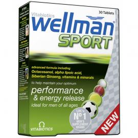 VITABIOTICS Wellman Sports 30tabs