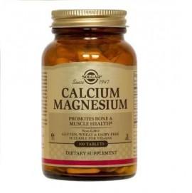 SOLGAR Calcium Magnesium - 100tabs