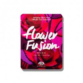 ORIGINS Flower Fusion Sheet Mask Rose, Μάσκα Προσώπου Τριαντάφυλλο -1τμχ