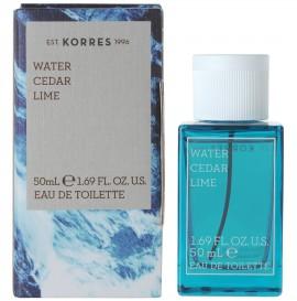 KORRES Άρωμα Αντρικό EDT Water Cedar Lime 50ml