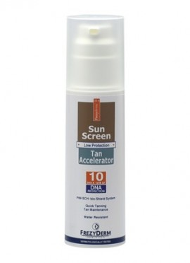 FREZYDERM Sun Screen Tan Accelerator SPF10 - 150ml