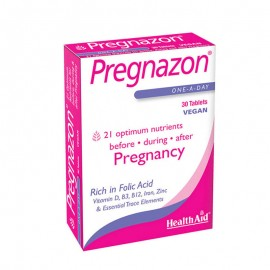 HEALTH AID Pregnazon, Ολοκληρωμένη Φροντίδα της Εγκύου & του Εμβρύου - 30tabs