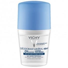 VICHY Deodorant Mineral Roll-on 48H, Χωρίς Άλατα Αλουμινίου - 50ml