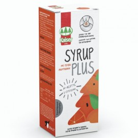 KAISER Syrup Plus, Σιρόπι Λαιμού, Πορτοκάλι - 200ml