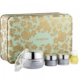 DARPHIN Stimulskin Plus Box Set, Stimulskin Plus Cream - 50ml &  Serumask - 5ml & Eye Cream - 5ml & 8 Flower Nectar Elixir - 4ml