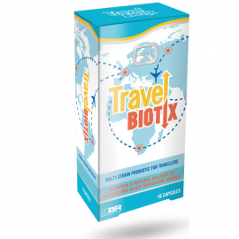QUEST Travel Biotix, Συμπλήρωμα Διατροφής με Προβιοτικά για Ταξιδιώτες - 16caps
