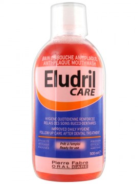 ELGYDIUM Eludril Care Mouthwash 500ml