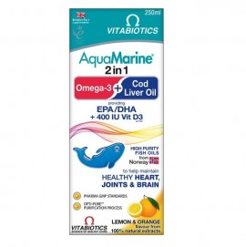 VITABIOTICS AquaMarine Cod Liver Oil & Omega-3 250ml