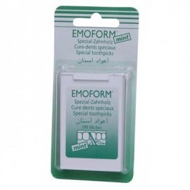 EMOFORM Οδοντογλυφίδες Διπλής Όψης για Καθαρισμό των Μεσοδόντιων Διαστημάτων -100τμχ
