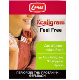 LANES Kcaligram Feel Free για τον Περιορισμό των Θερμίδων 16caps