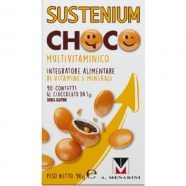SUSTENIUM Choco Multivitamin Πολυβιταμινούχο Συμπλήρωμα Διατροφής 90caps