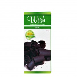 WISH Stevia Dark Chocolate 50gr