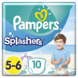 PAMPERS Splashers No 5-6 (14kg+) - 10τμχ