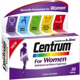 CENTRUM Women - Συμπλήρωμα Διατροφής Για Γυναίκες - 30 tabs