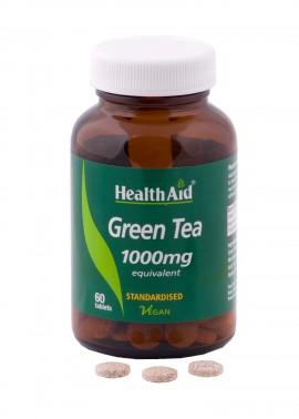 HEALTH AID Green Tea 1000mg 60tabs