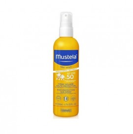 MUSTELA High Protection Sun Spray SPF50, Βρεφικό - Παιδικό Αντηλιακό - 200ml