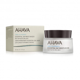 AHAVA Time To Hydrate, Essential Day Moisturizer - Normal To Dry Skin - 50ml