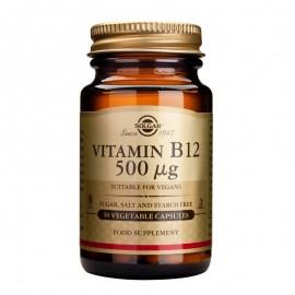 SOLGAR Vitamin B12 500μg - 50veg.caps
