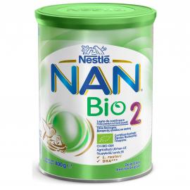 NESTLE Nan Bio 2 Γάλα 2ης Βρεφικής Ηλικίας 400 gr