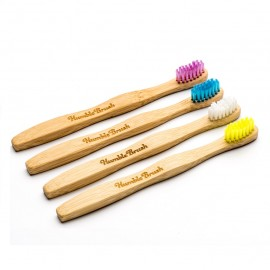 THE HUMBLE CO Humble Brush, Οδοντόβουρτσα Bamboo Παιδική - Ultra Soft