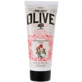 KORRES Pure Greek Olive Body Milk Verbena Ενυδατικό Γαλάκτωμα με Λουίζα 200ml