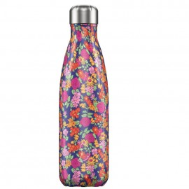 CHILLY'S BOTTLES Μπουκάλι- Θερμός Wild Rose Floral Edition - 500ml