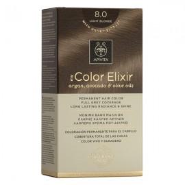 APIVITA My Color Elixir, Βαφή Μαλλιών No 8.0 -  Ξανθό Ανοιχτό 8.0