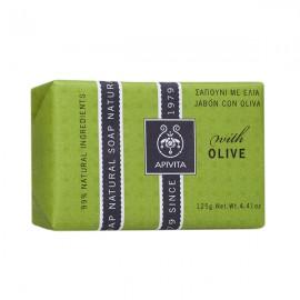 APIVITA Σαπούνι Με Λάδι Ελιάς 125gr