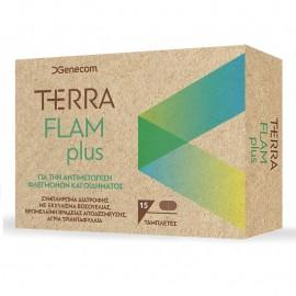 GENECOM Terra Flam Plus, Αντιμετώπιση Φλεγμονών και Οιδήματος - 15tabs
