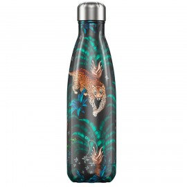 CHILLY'S BOTTLES Μπουκάλι- Θερμός Tropical Edition Leopard - 500ml