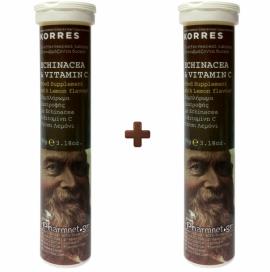 KORRES Echinacea & Vitamin C 20 1+1 ΔΩΡΟ 20 Αναβράζοντα Δισκία