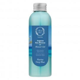 FRESH LINE Shower Gel, Αφρόλουτρο, Θαλασσινη Αύρα Αιγαίου - 200ml
