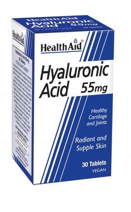 HEALTH AID Hyaluronic Acid 55mg 30caps